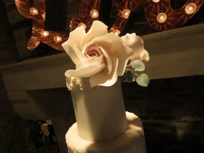 Whimsical Rose and Eucalyptus