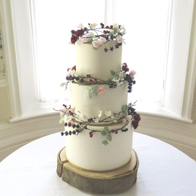 Rustic Sugarflowers Cake